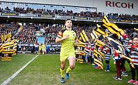Photo: Richard Lane/Richard Lane Photography. Wasps v Leicester Tigers. Aviva Premiership. 08/01/2017. Tigers' Ben Youngs.