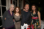 Mary Beth Peil, Bernadette Peters,Michael John LaChiusa and Donna Murphy during the Urban Stages' 35th Anniversary celebrating Women in the Arts at the Central Park Boat House on May 15, 2019 in New York City.
