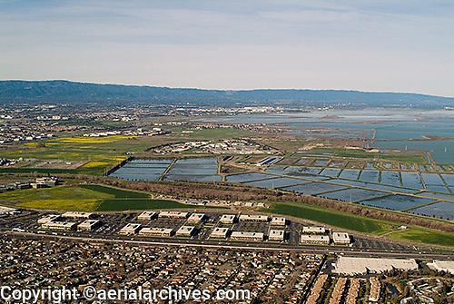 aerial photograph Milpitas, San Clara county, California