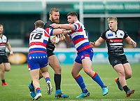 Action during the Betfred Championship match between London Broncos and Rochdale Hornets at Castle Bar , West Ealing , England  on 17 June 2018. Photo by Andrew Aleksiejczuk / PRiME Media Images.