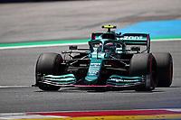 July 3rd 2021; F1 Grand Prix of Austria, qualifying sessions;   Formula 1 Austria Gran Prix 2021 Sebastian Vettel of Aston Martin on track Red Bull Ring