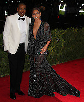 """NEW YORK CITY, NY, USA - MAY 05: Jay-Z, Beyonce at the """"Charles James: Beyond Fashion"""" Costume Institute Gala held at the Metropolitan Museum of Art on May 5, 2014 in New York City, New York, United States. (Photo by Xavier Collin/Celebrity Monitor)"""