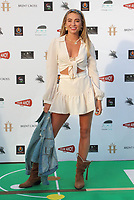 Georgia Harrison at the first ever UK Drive-In Film Premiere of 'Break' at Brent Cross in London. This is the first Red Carpet event in the UK since the Covid-19 Pandemic lockdown. The film will be rolled out nationwide in other drive-in venues. Brent Cross, London 22nd July 2020<br /> CAP/ROS<br /> ©ROS/Capital Pictures