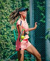 Hilversum, Netherlands, August 6, 2018, National Junior Championships, NJK, Bente Bierma (NED)<br /> Photo: Tennisimages/Henk Koster