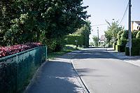 the Ijskelderlaan in Overijse along the Brabantse Pijl Route<br /> <br /> Cycling in Flanders (BEL)<br /> cycling hotspots in Brabant<br /> <br /> ©kramon