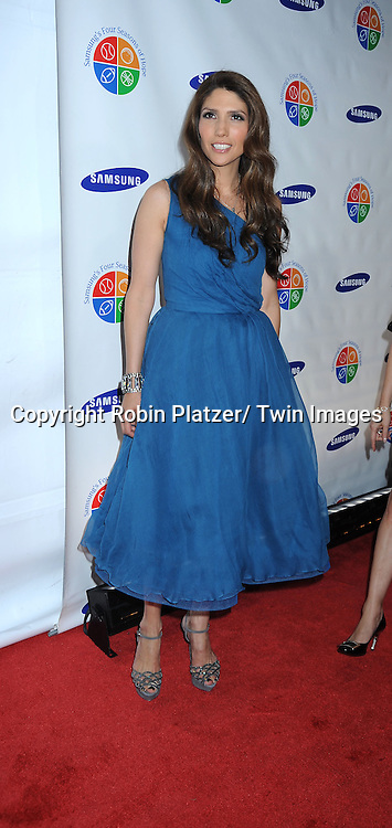 Lynda Lopez posing for photographers at The 9th Annual Samsung Four Seasons of Hope Gala on June 15, 2010 at Cipriani Wall Street in New York City.