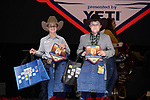 Seth Ross, Sammy Saunders, during the Team Roping Back Number Presentation at the Junior World Finals. Photo by Andy Watson. Written permission must be obtained to use this photo in any manner.