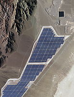 aerial photo map of the Copper Mountain Solar Facility, Boulder, Nevada
