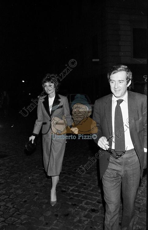 AUDREY HEPBURN CON ANDREA DOTTI<br /> ROMA 1979