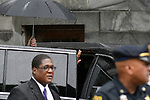 Bill Cosby departs after judge Steven O'Neill declares a mistrial in the aggravated indecent assault trail of entertainer Bill Cosby, at Montgomery County Courthouse, in Norristown, Pennsylvania, on June 17, 2017.