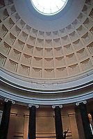 I.M. Pei: Washington D.C. The National Gallery, Rotunda and Ocula. (Photo '85)