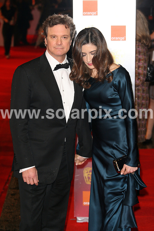 **ALL ROUND PICTURES FROM SOLARPIX.COM**                                             **WORLDWIDE SYNDICATION RIGHTS**                                                                                  Arrivals to the Orange British Academy Film Awards held at The Royal Opera House on February 13, 2011 in London                                                                          .This pic:    Colin Firth                                                                                           JOB REF:   12788     LNJ       DATE:   13.02.11                                                         **MUST CREDIT SOLARPIX.COM OR DOUBLE FEE WILL BE CHARGED**                                                                      **MUST AGREE FEE BEFORE ONLINE USAGE**                               **CALL US ON: +34 952 811 768 or LOW RATE FROM UK 0844 617 7637**