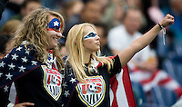USA Fans.  Japan won the FIFA Women's World Cup on penalty kicks after tying the United States, 2-2, in extra time at FIFA Women's World Cup Stadium in Frankfurt Germany.