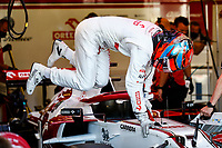 RAIKKONEN Kimi (fin), Alfa Romeo Racing ORLEN C41, portrait during the Formula 1 Azerbaijan Grand Prix 2021 from June 04 to 06, 2021 on the Baku City Circuit, in Baku, Azerbaijan <br /> FORMULA 1 : Grand Prix Azerbaijan <br /> 05/06/2021 <br /> Photo DPPI/Panoramic/Insidefoto <br /> ITALY ONLY