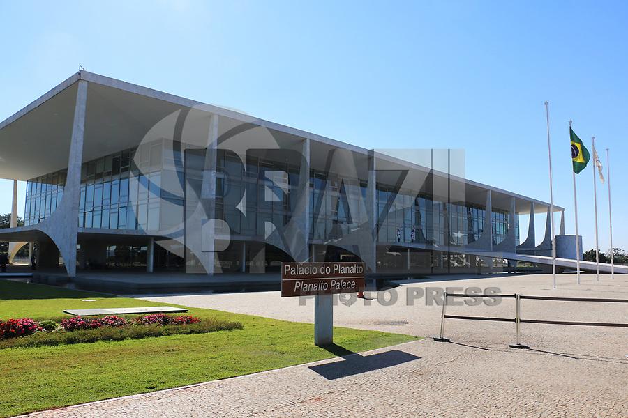 BRASÍLIA, DF, 04.07.2019 - POLÍTICA-DF - Palácio do Planalto visto nesta quinta-feira, 4. ( Foto Charles Sholl/Brazil Photo Press/Folhapress)