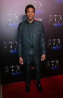 02 April 2019 - Las Vegas, NV - Chadwick Boseman. 2019 CinemaCon STX Studio Presentation Red Carpet at Caesars Palace. Photo Credit: MJT/AdMedia