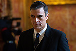 Pedro Sanchez, President of the Government of Spain attends the New Year Military parade 2020 celebration at the Royal Palace. January 6,2020. (ALTERPHOTOS/Pool)