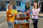 Ardfert NS who received €5,000 worth of book tokens from the National Book Tokens at the school on Monday morning, l to r: Betty Stack (Principal) and Marie O'Connell (Teacher).