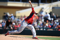 St. Louis Cardinals pitcher Boone Whiting (93) during a spring training game against the Detroit Tigers on March 3, 2014 at Joker Marchant Stadium in Lakeland, Florida.  Detroit defeated St. Louis 8-5.  (Mike Janes/Four Seam Images)