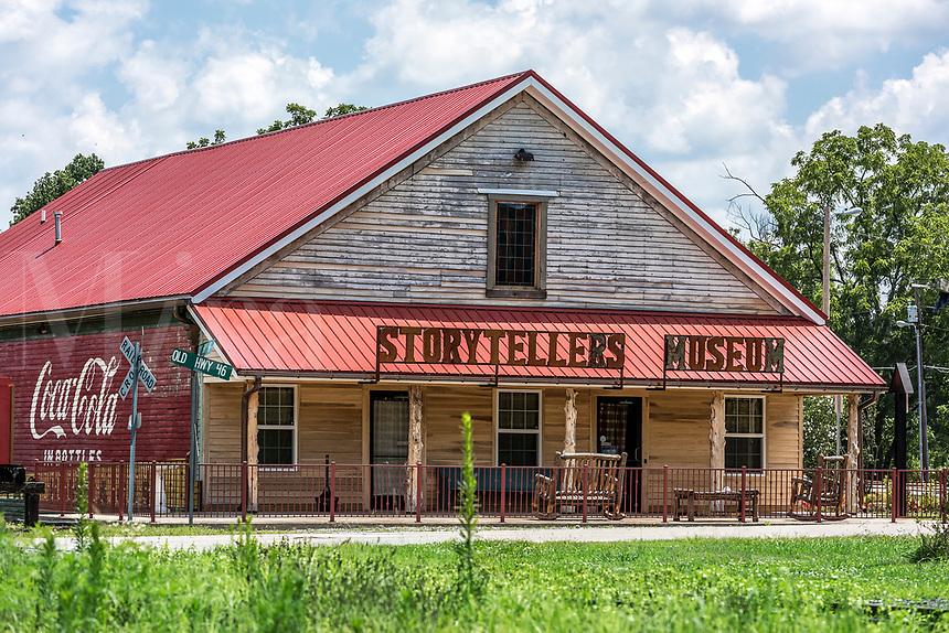The Storytellers Museum, Bon Aqua, Tennessee, USA.