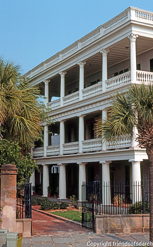 Charleston:  House on Battery.