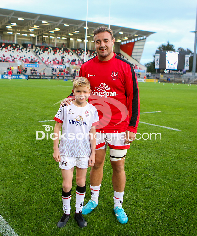 27th September 2019 | Ulster vs Ospreys<br /> <br /> Mascots during the opening PRO14 League clash between Ulster Rugby and the Ospreys at Kingspan Stadium, Ravenhill Park, Belfast, Northern Ireland. Photo by John Dickson / DICKSONDIGITAL