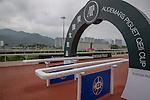 APR 25,2015:Track scene at Sha Tin in New Territories,Hong Kong. Kazushi Ishida/ESW/CSM