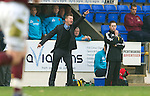 St Johnstone v Hearts....24.03.12   SPL.Steve Lomas.Picture by Graeme Hart..Copyright Perthshire Picture Agency.Tel: 01738 623350  Mobile: 07990 594431