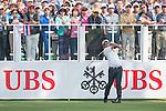 Thongchai Jaidee of Thailand tees off the first hole during the 58th UBS Hong Kong Golf Open as part of the European Tour on 08 December 2016, at the Hong Kong Golf Club, Fanling, Hong Kong, China. Photo by Marcio Rodrigo Machado / Power Sport Images