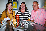 Enjoying the evening in Bella Bia  on Saturday, l to r: Erica, Mary and Charlie O'Sullivan.