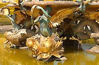 Blenheim Palace - Italian Garden fountain