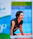Chantal Beauchesne, Rio 2016 - Sitting Volleyball // Volleyball assis.<br /> Canada competes against Ukraine in the Women's Sitting Volleyball Preliminary // Le Canada affronte l'Ukraine dans le tournoi préliminaire de volleyball assis féminin. 13/09/2016.
