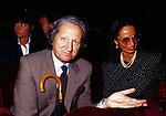 GIORGIO FORATTINI CON LA MOGLIE ILARIA FOSSATI -  FESTA DECENNALE DEL GILDA CLUB ROMA 1996