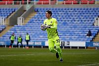 13th February 2021; Madejski Stadium, Reading, Berkshire, England; English Football League Championship Football, Reading versus Millwall; Goalkeeper Rafael Cabral of Reading