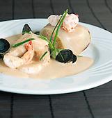 Pilaf de fruits de mer