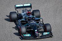 26th March 2021; Sakhir, Bahrain; F1 Grand Prix of Bahrain, Free Practice sessions;  44 HAMILTON Lewis (gbr), Mercedes AMG F1 GP W12 E Performance during Formula 1 Gulf Air Bahrain Grand Prix 2021
