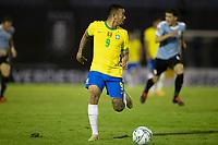17th November 2020; Centenario Stadium, Montevideo, Uruguay; Fifa World Cup 2022 Qualifying football; Uruguay versus Brazil; Gabriel Jesus of Brazil looks inside for a passing lane