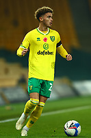 7th November 2020; Carrow Road, Norwich, Norfolk, England, English Football League Championship Football, Norwich versus Swansea City; Josh Martin of Norwich City