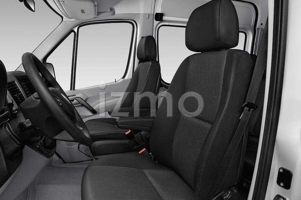 Front seat view of 2017 Mercedes Benz Sprinter-Crew-Van 2500-170-WB-High-Roof 4 Door Combi Front Seat  car photos