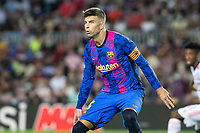 14th September 2021: Nou Camp, Barcelona, Spain: ECL Champions League football, FC Barcelona versus Bayern Munich: Gerard Pique of FCBarcelona in action