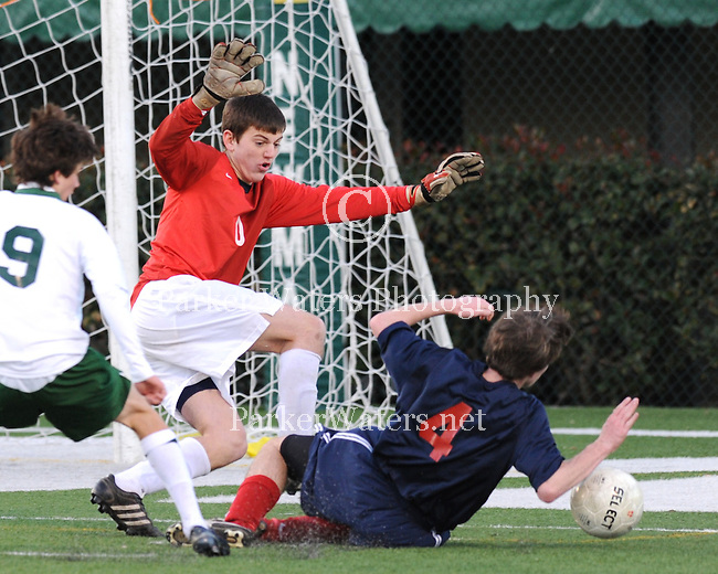 St. Martin's and Newman meet in the quarter final round of the Louisiana State Soccer Playoffs.  Newman went on to defeat St. Martin's by a score of 3-1.