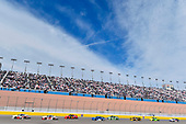 NASCAR Xfinity Series<br /> Boyd Gaming 300<br /> Las Vegas Motor Speedway, Las Vegas, NV USA<br /> Saturday 3 March 2018<br /> Cole Custer, Stewart-Haas Racing, Ford Mustang Haas Automation and Christopher Bell, Joe Gibbs Racing, Toyota Camry Rheem-Smurfit Kappa<br /> World Copyright: Nigel Kinrade<br /> NKP / LAT Images