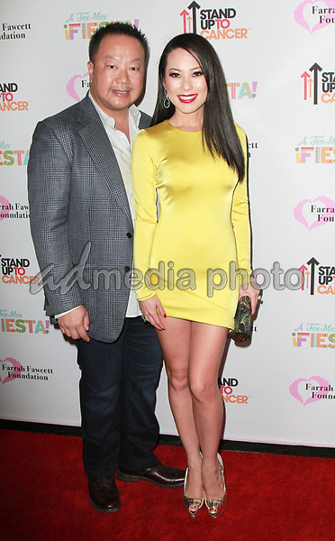9 September 2017 -  Gabriel Chiu,Christine Chiu attend Farrah Fawcett Foundation's 'Tex-Mex Fiesta' event honoring Stand Up To Cancer at the Wallis Annenberg Center for the Performing Arts . Photo Credit: Theresa Bouche/AdMedia