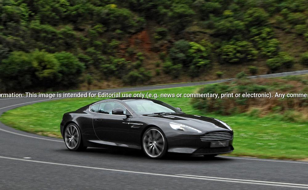 2011 Aston Martin Virage Coupe Quantum Silver Joel Strickland