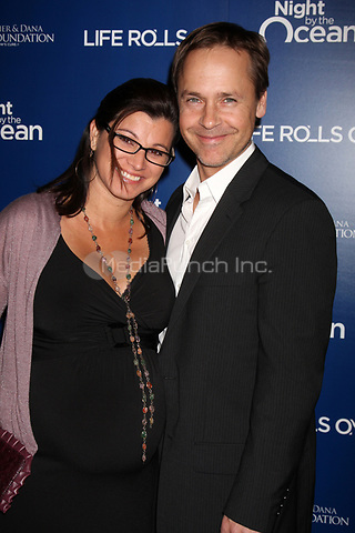 MARINA DEL REY, CA - NOVEMBER 10: Kim Painter and Chad Lowe at The Life Rolls On Foundation's 9th Annual Night by the Ocean at the Ritz-Carlton Hotel on November 10, 2012 in Marina del Rey, California. Credit: mpi21/MediaPunch Inc.