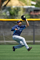 Tampa Bay Rays Cade Gotta (67) during a minor league Spring Training intrasquad game on April 1, 2016 at Charlotte Sports Park in Port Charlotte, Florida.  (Mike Janes/Four Seam Images)