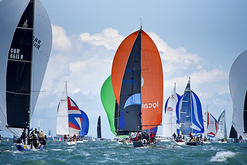 For Cowes Week 2021, there will be eight IRC classes, Black Group One Designs such as the J/109 as well as 17 One Design Day Boat classes in the White Group