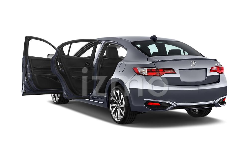 Car images close up view of 2018 Acura ilx Tech Plus A Spec 4 Door Sedan doors