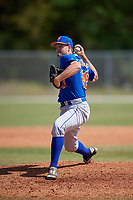 New York Mets Pitcher Austin McGeorge (68) during a minor league Spring Training game against the St. Louis Cardinals on March 28, 2017 at the Roger Dean Stadium Complex in Jupiter, Florida.  (Mike Janes/Four Seam Images)
