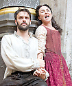 Macbeth by William Shakespeare. A Shakespeare's Globe Production directed by Eve Best. with Joseph Millson as Macbeth, Samantha Spiro as Lady Macbeth .Opens at the Shakespeare's Globe Theatre on 4/7/13  pic Geraint Lewis